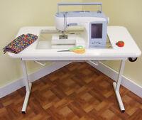 Bernina 830e, 880e, 820qe - Heavy Duty Arrow Table (sewing Machine Not Included)