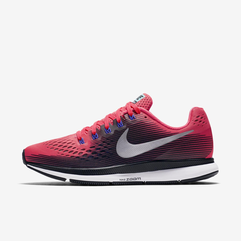 Wmns Nike Nike Nike Air Zoom Pegasus 34 S6 Solar röd  silver 8880560 -604 FRI FARTYG  fabriksförsäljning