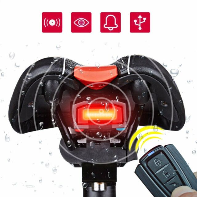## 4 In 1 Bicycle Bike Security Lock Wireless Alarm Antitheft Remote Control