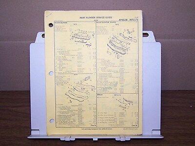 1974 buick apollo wiring diagram 1973 1974 1975 buick apollo oem factory part number list gtc ebay  1973 1974 1975 buick apollo oem factory