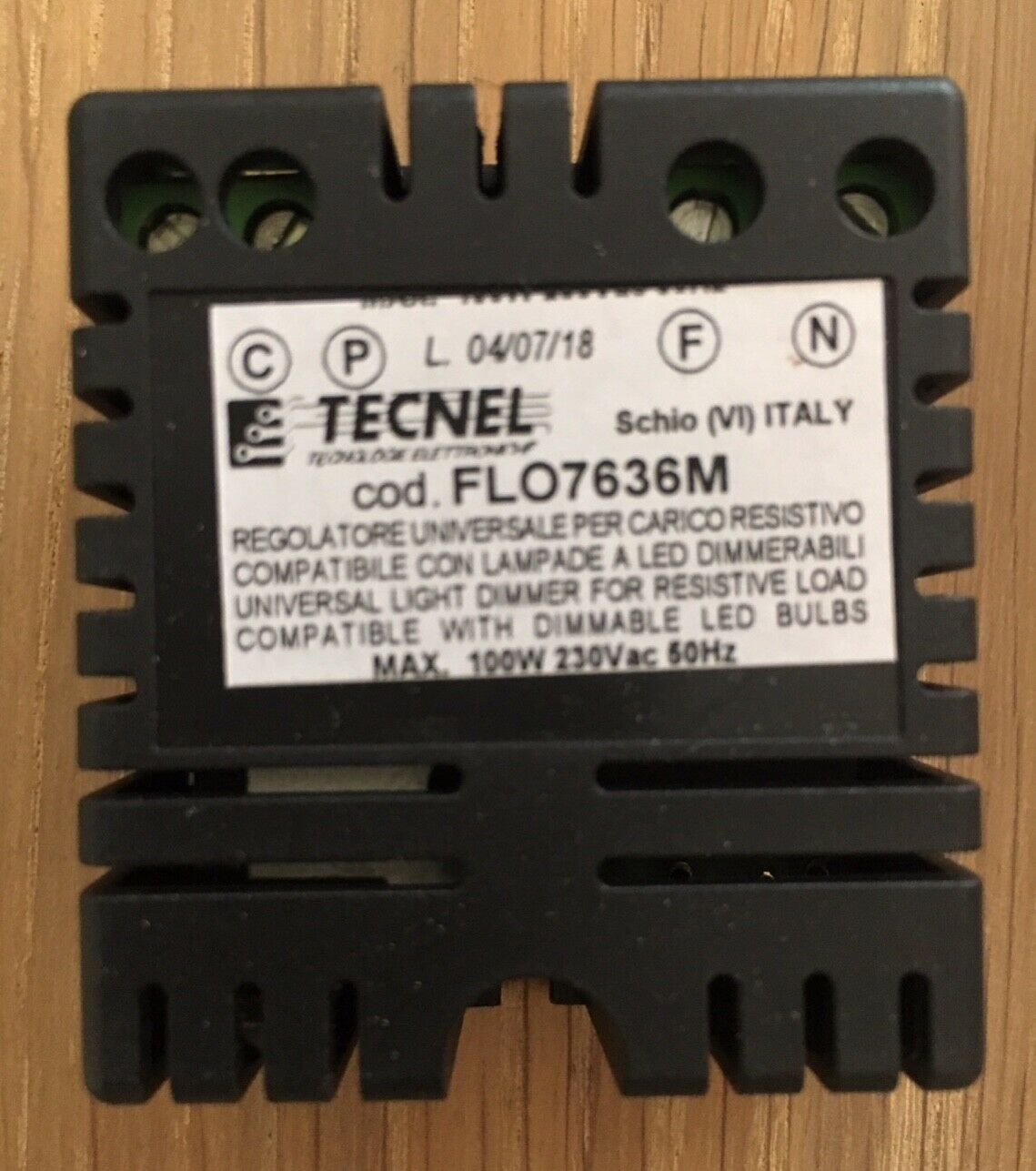 Tecnel Wanddimmer für Flos Aim FLO7636M LED 100W 230V NEU - originalverpackt