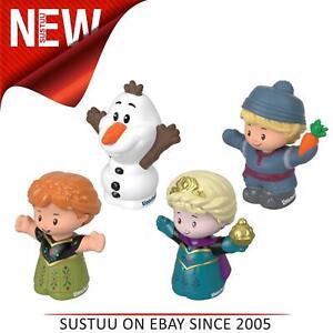 Fisher-price-Little-People-4-Figur-Packung-Kinder-Disney-Eiskoenigin-Spiele-Set