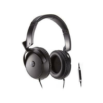 HeadRush Over-Ear Headphones with In-Line Controls - Black