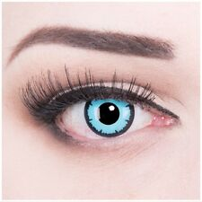 Coloured Contact Lenses Sky Demon Contacts Color for Carnival + Free Case