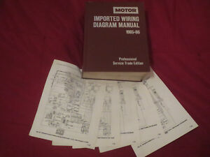 1985 1986 hyundai excel sonata pony stellar wiring diagrams rh ebay co uk
