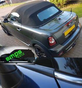 Mini Black Out De Chrome Premium Beltline Kit R58 Roadster Black