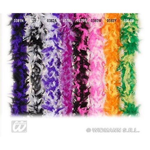 Feather Boa Bicol 180cm Purp//blk Accessory For 20s 30s Dancing Flapper Moll