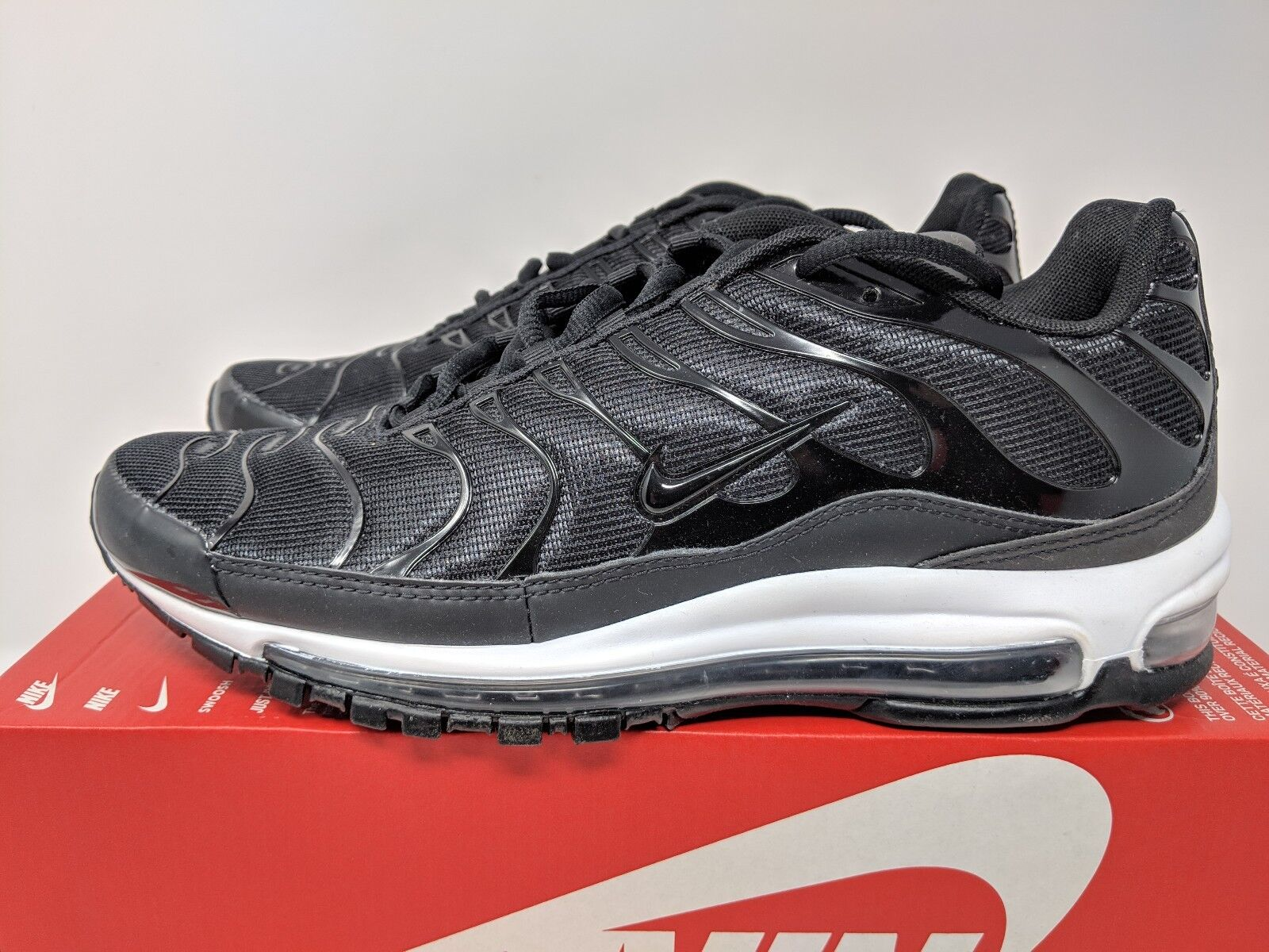 15728e6b1a6 NIKE MAX 97 PLUS (AH8144-001) BLACK ANTHRACITE WHITE Men 8.5 AIR SIZE  nbyxmz2421-Athletic Shoes
