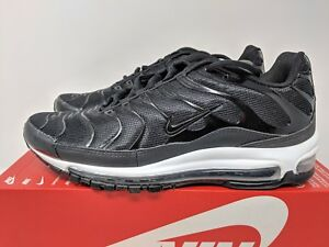 Details about NIKE AIR MAX 97 PLUS (AH8144 001) BLACK ANTHRACITE WHITE Men SIZE 8.5