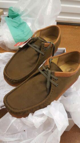 Uk Marrón 12 X Clarks G Encerado Wallabees Zapato Originals Us 11 nfHqO4g