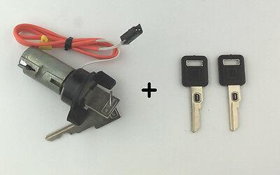 86-02 GM Firebird Camaro Corvette Ignition Cylinder Lock Kit w/ Cut VATS Keys