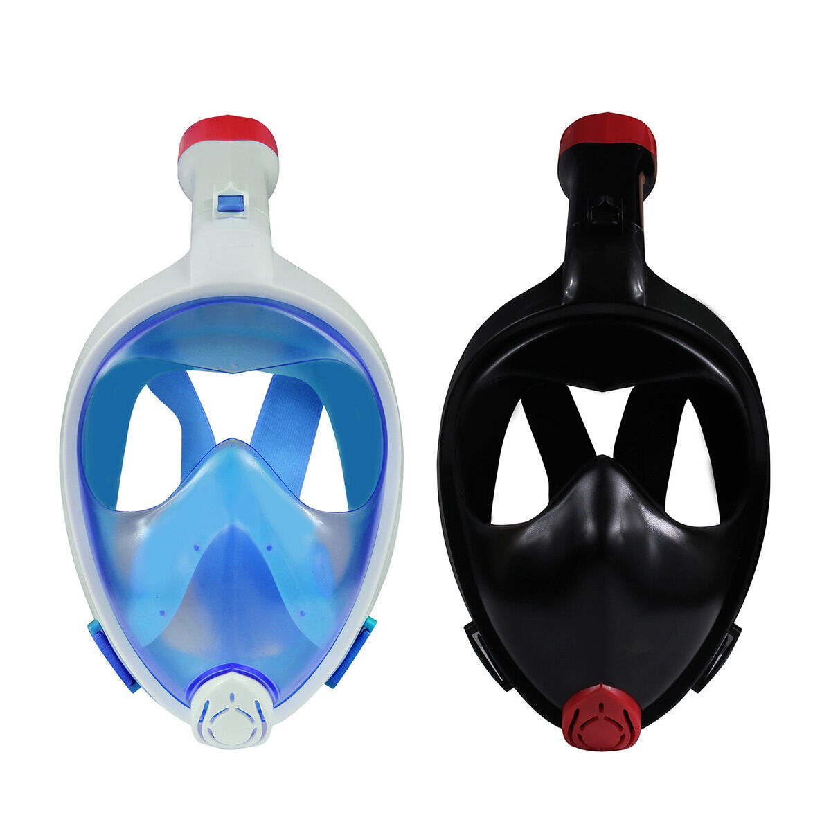 Seaview 180° Snorkel Mask Panoramic Full Face Design for GoPro Compatible Snorke