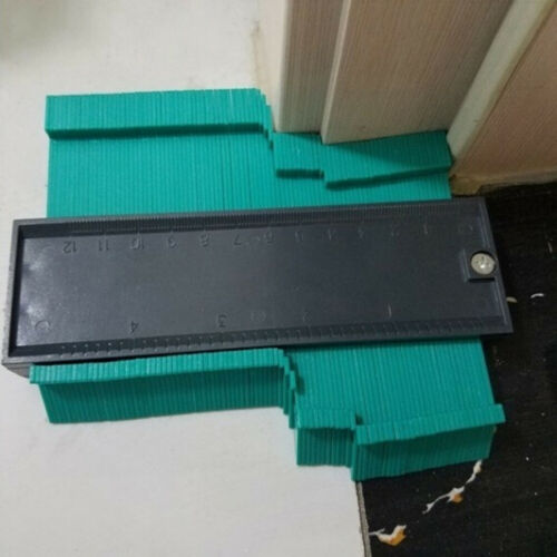 5 /'/' Profilkopierlehre Konturmessgerät Duplikator Holzmaßstab Werkzeug ZP