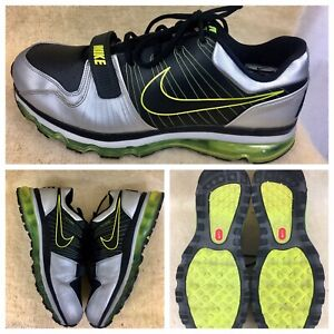Nike Air Max Trainer 1 Running Men's Shoes US Size 12 TR1 Flyknit Fly Wire Green