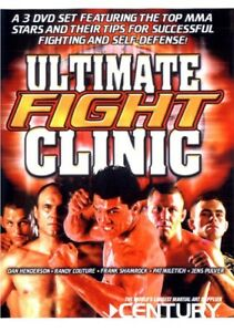 NEW-Ultimate-Fight-Clinic-Instructional-DVD-Set-Shamrock-Militech-Couture