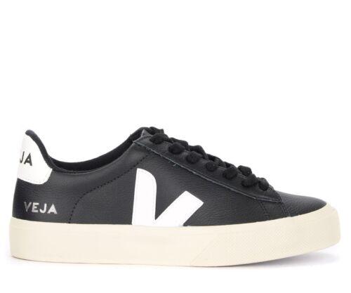 Sneaker Trije Campo Easy en cuir noir