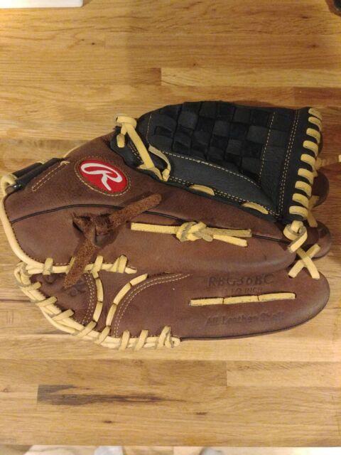 "RHT Rawlings 12.5""  Baseball Glove RBG36BC - All Leather Shell"