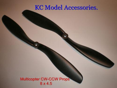 Multicopter accessoires 8 x 4.5 comptoir de nylon forte rotation Accessoires x paire cw-ccw