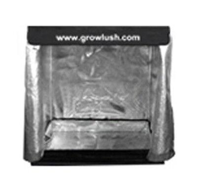 GROW TENT 0.9X0.5X1.6M GROWLUSH MYLAR REFLECTIVE ALUMINUM GROWING ROOM 90x50x160