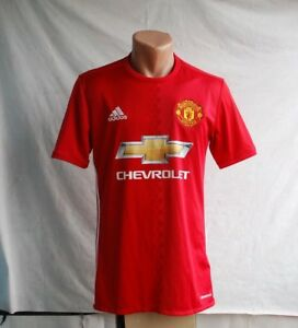 4efc418c0ba Image is loading MANCHESTER-UNITED-2016-2017-HOME-FOOTBALL-SHIRT-JERSEY-