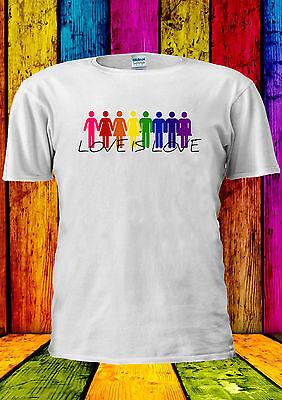 Di Animo Gentile Love Is Love Lgbt Gay Lesbiche T-shirt Canotta Tank Top Uomini Donne Unisex 2234-mostra Il Titolo Originale Abbiamo Vinto L'Elogio Dai Clienti