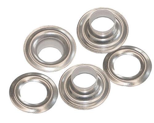 N1-0-NICKEL Grommets /& Plain Washers,size 0. 144 QTY-Osborne-No 13114