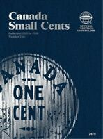 Canada Small Cents No. 1, 1920-1988, Whitman Coin Folder