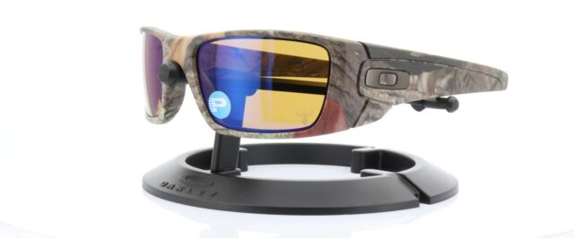 20f27f7359 Oakley Fuel Cell Sunglasses OO9096-A4 Woodland w  Shallow Blue Polarized  Lens