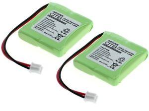 2x Original Otb Batterie Pour Siemens Gigaset E40/gigaset E45 Téléphone Accu 500 Mah-afficher Le Titre D'origine