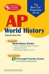 Details about Best Test Preparation for the AP World History Exam by Vess,  Deborah
