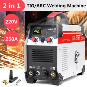 ARC Welder AC 220V LCD Stick Inverter Soldering Welding Machine Tool TIG Welders
