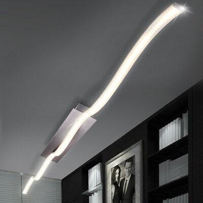 LED Decken Lampe Leuchte Beleuchtung Wohn Schlaf Ess Zimmer Wellen-Design 12W