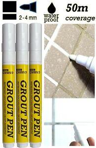3x-White-Grout-Tiling-Pen-Tile-Reviver-Repair-Kitchen-Bathroom-Shower-Anti-Mould