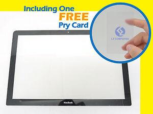 NEW-LCD-LED-Screen-Display-Glass-Bezel-c-w-Apple-Unibody-MacBook-13-034-A1278-2008
