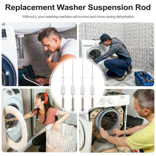 Details about  /4pcs Washer Suspension Rod For Impeller Washing Machine Damper Rod Assembly