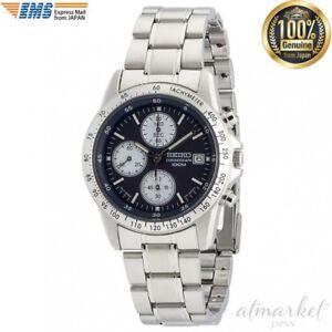 SEIKO-SND365PC-Chronograph-100M-overseas-model-dark-blue-men-039-s-watch-from-JAPAN