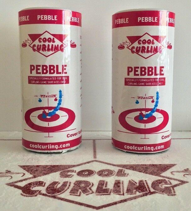 2 Cans Of Pebble For Cool Curling Game Tables   Cool Curling  buy brand