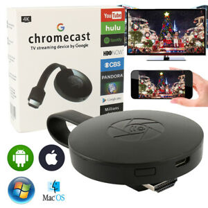 Pour Google Chromecast 2 WiFI Media 1080P HDMI Streamer Dongle vidéo multimédia