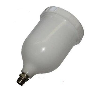 Scratch Doctor Air Spray Gun Pot Cup DEVILBISS Replacement 600ml GTI FLG PRI