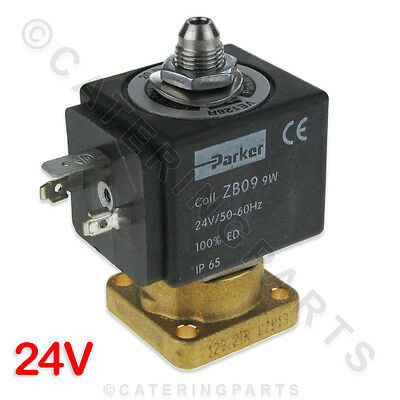 PARKER ZB09 TWO WAY WATER SOLENOID VALVE VE-146 FOR COFFEE MACHINES 1120355