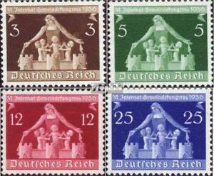 Deutsches-Reich-617-620-kompl-Ausg-gestempelt-1936-Gemeindekongress