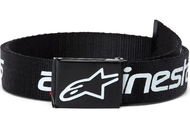 Alpinestars Mens Belt Linear Web Belt Black/White