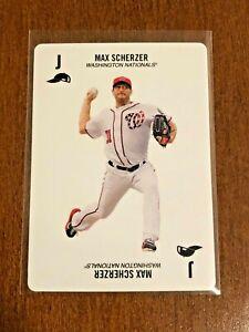 2019-Topps-52-Card-Baseball-Base-Card-Max-Scherzer-Washington-Nationals