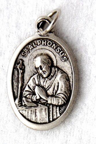 ST Alfonso Liguori olph Cattolica Saint MEDAGLIA patrono Artrite scrupolosità NUOVO