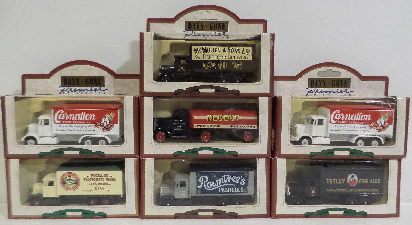 Vehículos  conjunto de Scammel 6-Wheeler & Ford Die Cast modelos hechos por Lledo (DT)