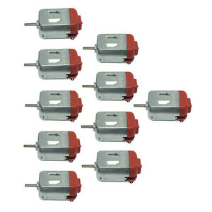 130 Small Motor DC 3-12V Ultra High Speed DIY Hobby Remote Control Toy Car 10pcs