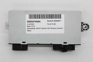 Details about 2013 BMW 6 Series F13 Alpina Continental CAS Module  5WK50522CBR