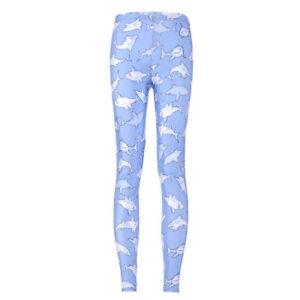 Woman-legging-cute-Blue-shark-Printed-legging-plus-size-leggings-S-4XL-174