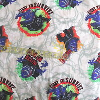 Flannel Fabric Universal Studios KING KONG  8th wonder of the world BTHY 1/2 yd