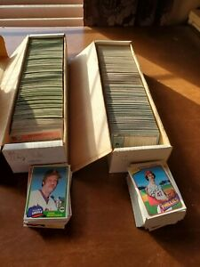 1980 and 1981 Topps Baseball Cards, Pick 20 to complete your set.